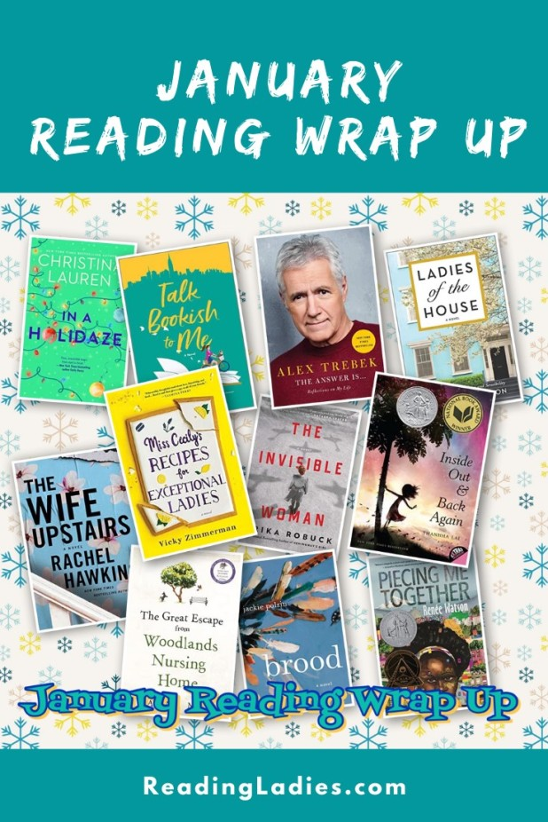 January 2021 Reading Wrap Up (collage of book covers)