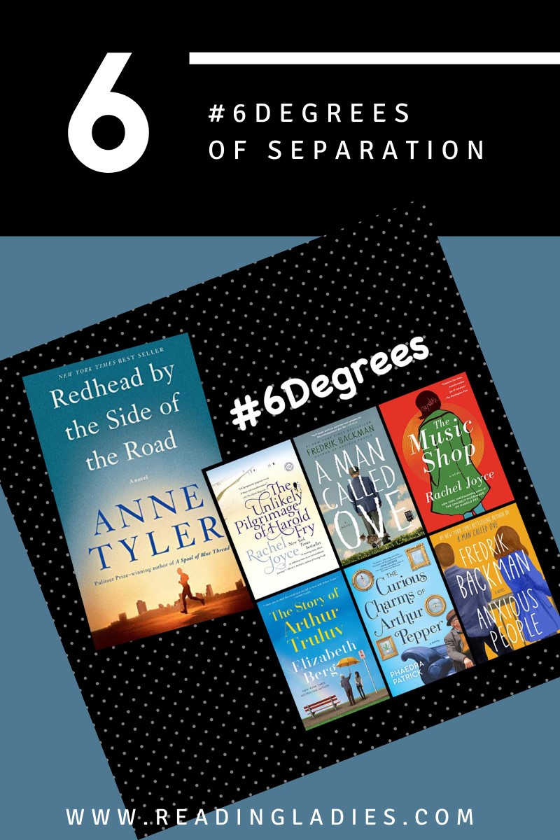 #6Degrees of Separation From Redhead By the Side of the Road to Anxious People (a collage of covers listed in post)