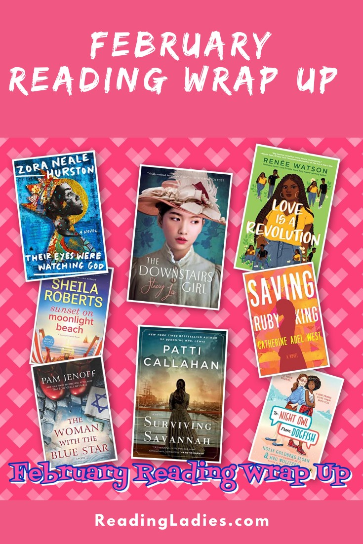 February 2021 Reading Wrap Up (Image: a collage of book covers)