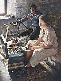 Virginia Hall wireless operator in WW11