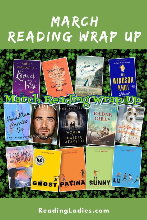 March 2021 Reading Wrap Up (collage of book covers)