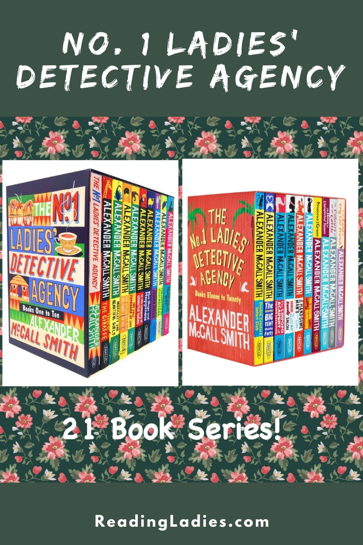 No. 1 Ladies' Detective Angency (Image: boxed sets of books)