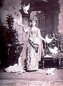 Alva Vanderbilt (in costume)