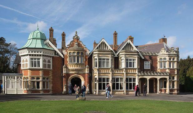 Bletchley Park Mansion in 2017