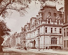 Mrs. Astor's New York City mansion
