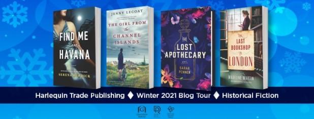 Historical Fiction Blog Tour (4 covers)