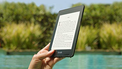Paperwhite ereader electronic device
