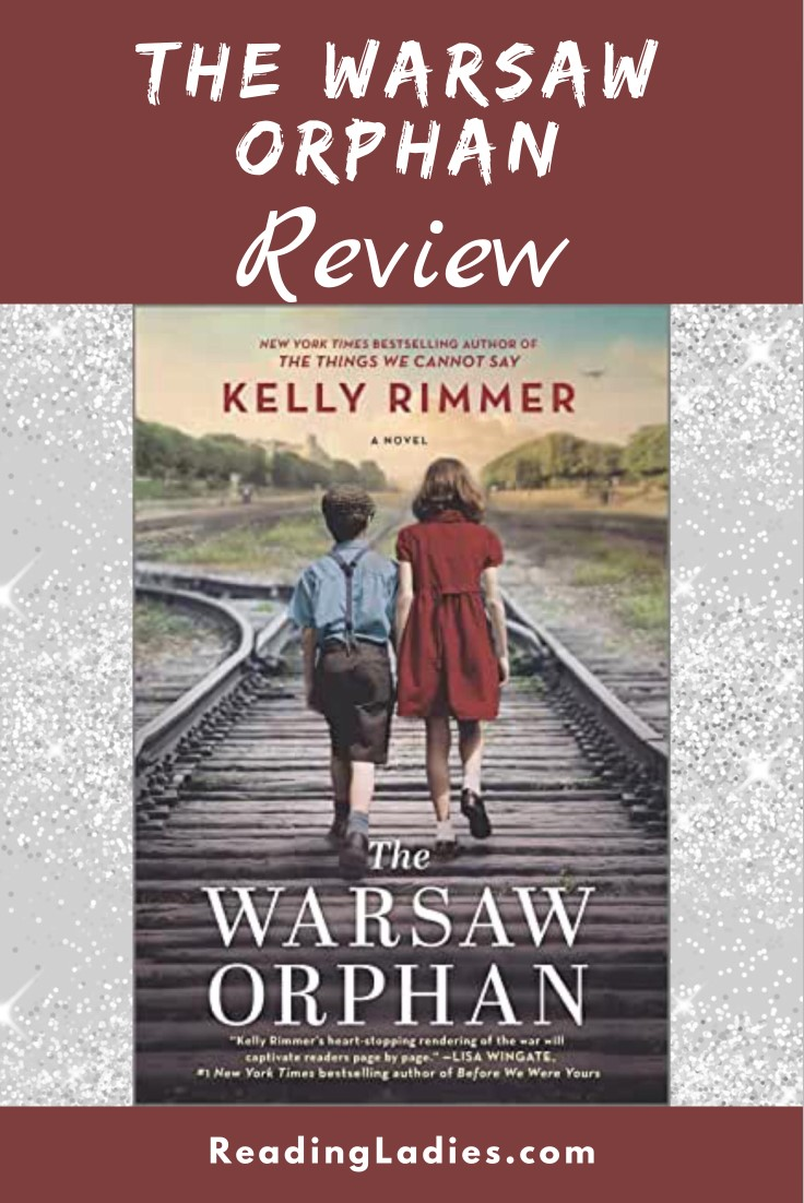 The Warsaw Orphan by Kelly Kimmer (cover) Image: two children walk along the railroad tracks away from the camera