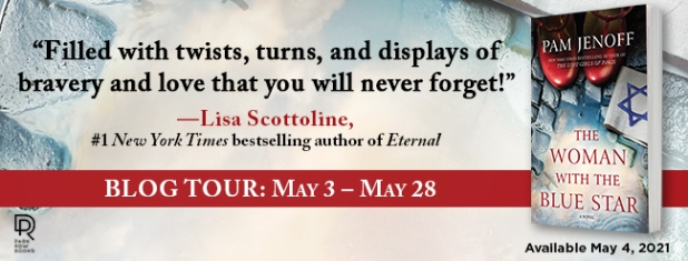 The Woman With the Blue Star Blog Tour Banner