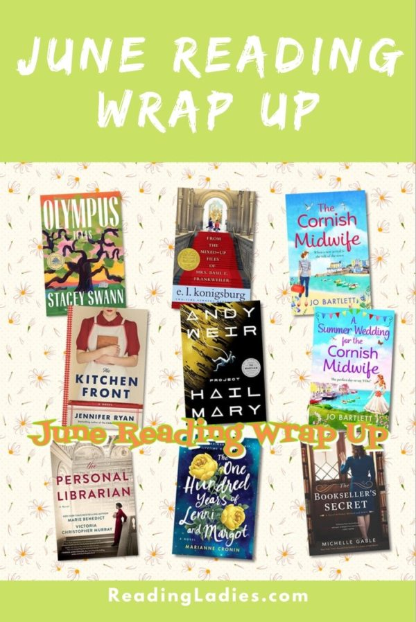 June 2021 Reading Wrap Up (collage of covers)