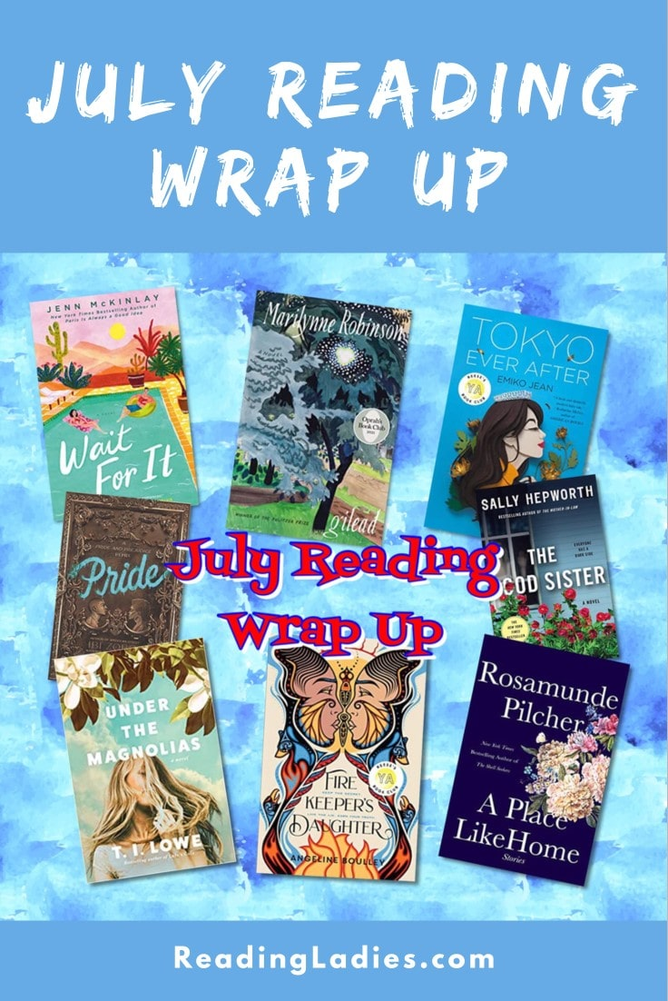 July 2021 Reading Wrap Up (collage of covers)