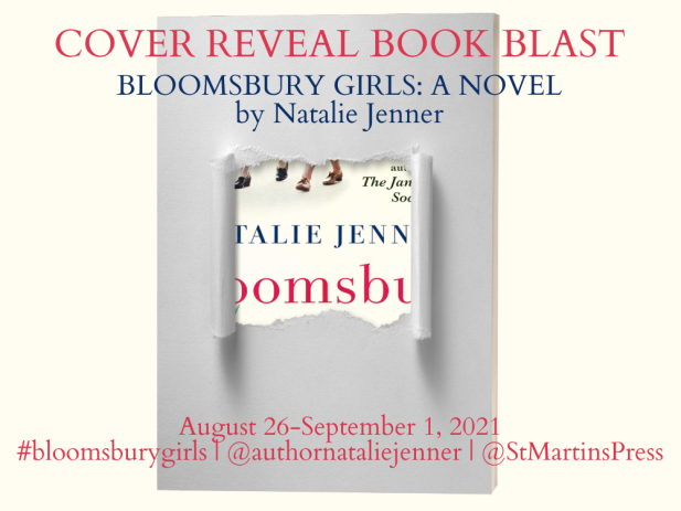 Bloomsbury Girls Cover Reveal Banner