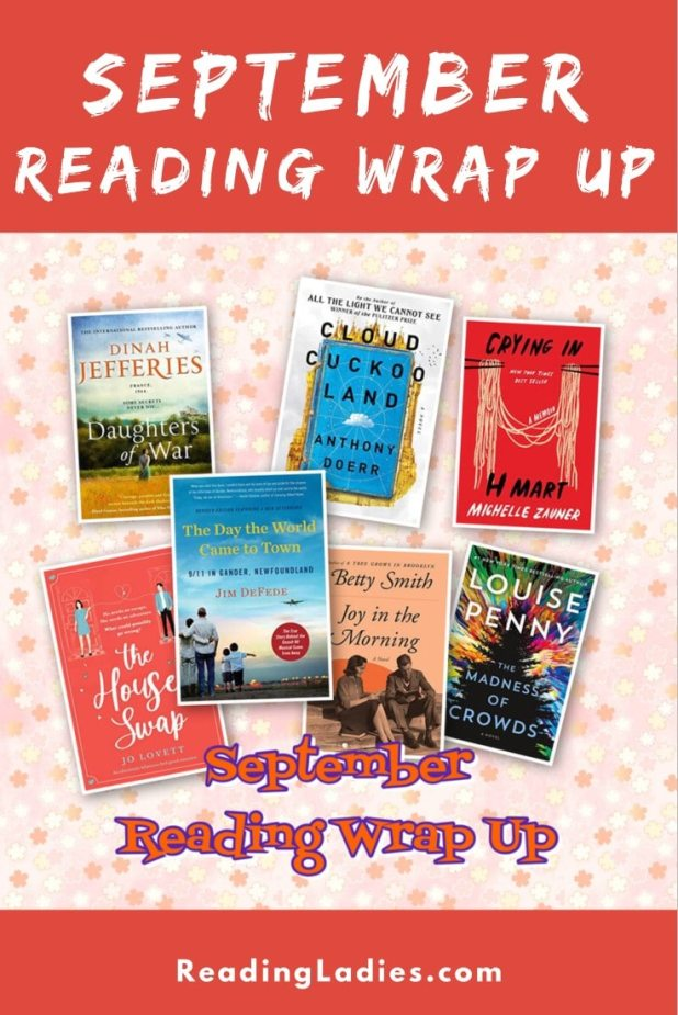 September Reading Wrap Up (collage of covers)